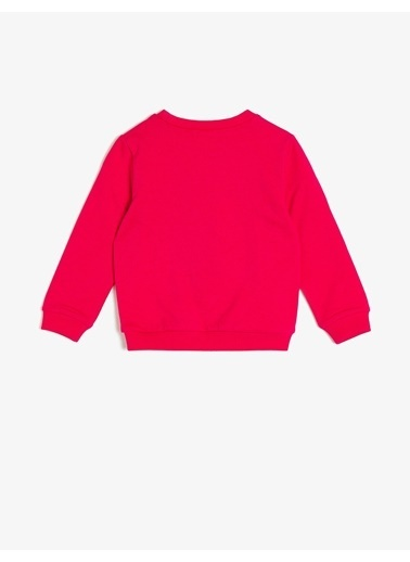 Koton Kids Sweatshirt Fuşya